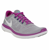 Nike Flex RN 2016 Women's Running Shoe - Wolf Grey/Hyper Violet/White