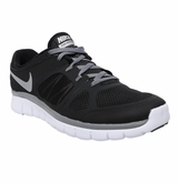 Nike Flex Run Boy's Training Shoes - Black