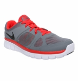 Nike Flex Run Boy's Training Shoes - Carbon Gray