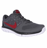 Nike Flex Run Men's Training Shoe - Dark Gray/Black/Gym Red