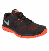 Nike Flex Run Men's Training Shoes - Anthracite/Crimson/Silver