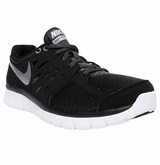 Nike Flex Run Men's Training Shoes - Black/Dark Gray/Silver