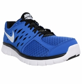 Nike Flex Run Men's Training Shoes - Blue/Black/White