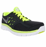Nike Flex Run Men's Training Shoes - Dark Gray/Volt/Silver