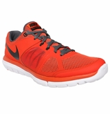 Nike Flex Run Men's Training Shoes - Orange/Gray/Black