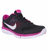Nike Flex Run Women's Training Shoes - Anthracite/Fusion/Pink