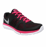 Nike Flex Run Women's Training Shoes - Black/Pink