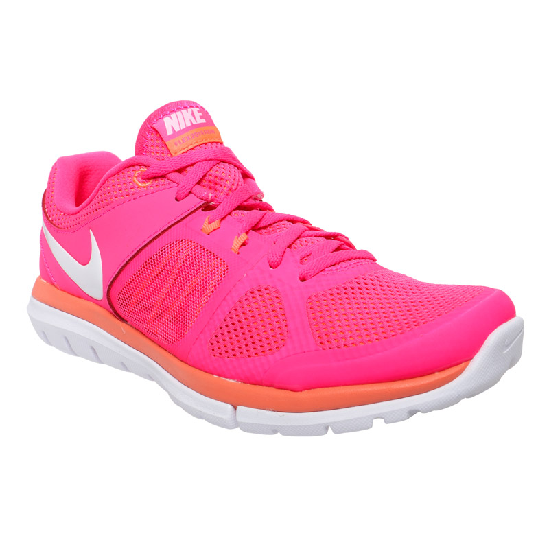nike flex run s shoes pink