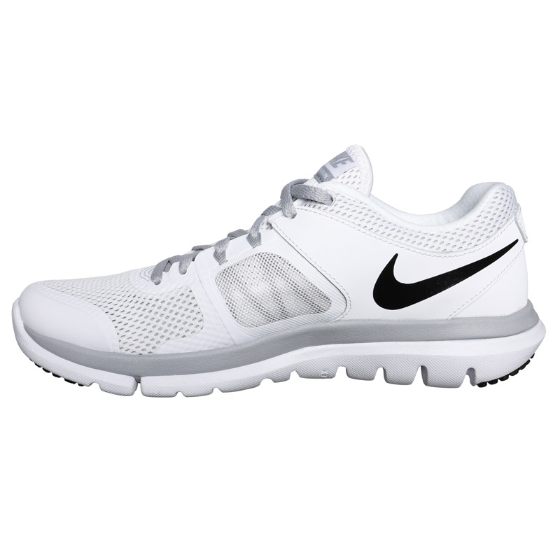 womens white nike flex shoes traffic school