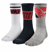 Nike Fly Rise Men's Crew Socks - 3 Pack