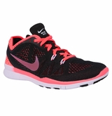 Nike Free 5.0 Breathe Women's Training Shoes - Black/Hot Lava