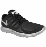 Nike Free 5.0 Flash Men's Training Shoes - Black/Gray/Silver