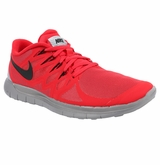 Nike Free 5.0 Flash Men's Training Shoes - Red/Gray/Black