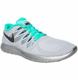 Nike Free 5.0 Flash Men's Training Shoe - Silver/Gray/Jade