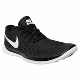 Nike Free 5.0 GS Yth. Training Shoes - Black/White