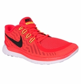 Nike Free 5.0 Men's Training Shoe - Bright Crimson/Total Orange/Citrus