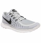 Nike Free 5.0 Men's Training Shoe - Platinum/Wolf Gray/Clear Gray