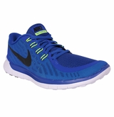 Nike Free 5.0 Men's Training Shoe - Royal/Black/Neon Turquoise