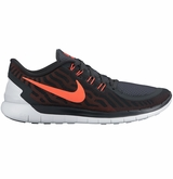 Nike Free 5.0 Men's Training Shoes - Anthracite/University Red/Crimson