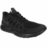 Nike Free 5.0 Men's Training Shoes - Black/Black