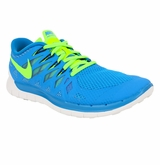 Nike Free 5.0 Men's Training Shoes - Blue/Black/Green