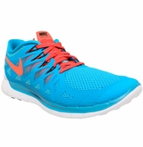 Nike Free 5.0 Men's Training Shoes - Blue Lagoon/Clearwater/Crimson