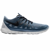 Nike Free 5.0 Men's Training Shoes - Cool Blue/Wolf Gray/Black