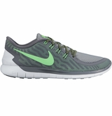Nike Free 5.0 Men's Training Shoes - Cool Gray/Volt Green/Wolf Gray