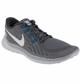 Nike Free 5.0 Men's Training Shoes - Cool Grey/Platinum