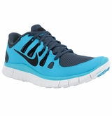Nike Free 5.0+ Men's Training Shoes - Dark Blue/Blue/Black