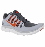 Nike Free 5.0+ Men's Training Shoes - Dark Gray/Orange/Gray