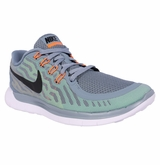 Nike Free 5.0 Men's Training Shoes - Dove Gray/Electric Green/Volt