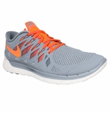 Nike Free 5.0 Men's Training Shoes - Gray/White/Crimson