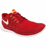 Nike Free 5.0 Men's Training Shoes - Gym Red/Kumquat/Crimson