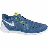 Nike Free 5.0 Men's Training Shoes - Military Blue/Photo Blue/White