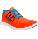 Nike Free 5.0+ Men's Training Shoes - Orange/Blue/Black