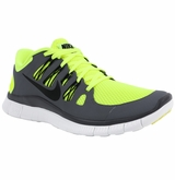 Nike Free 5.0+ Men's Training Shoes - Volt/Gray/Black