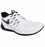 Nike Free 5.0 Men's Training Shoes - White/Pure/Black