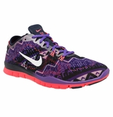 Nike Free 5.0 TR Mezzo Fit Women's Training Shoes - Obsidian/Hyper Punch