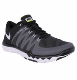 Nike Free 5.0 Trainer V6 Men's Training Shoes - Black/Gray/Volt