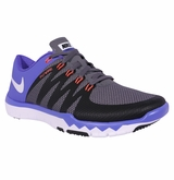 Nike Free 5.0 Trainer V6 Men's Training Shoes - Dark Gray/Black/Persian Violet