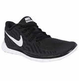 Nike Free 5.0 Women's Training Footwear - Black/Dark Gray