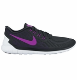 Nike Free 5.0 Women's Training Shoes - Black/Court Purple/Varsity Purple