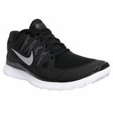 Nike Free 5.0+ Women's Training Shoes - Black/Dark Gray/White