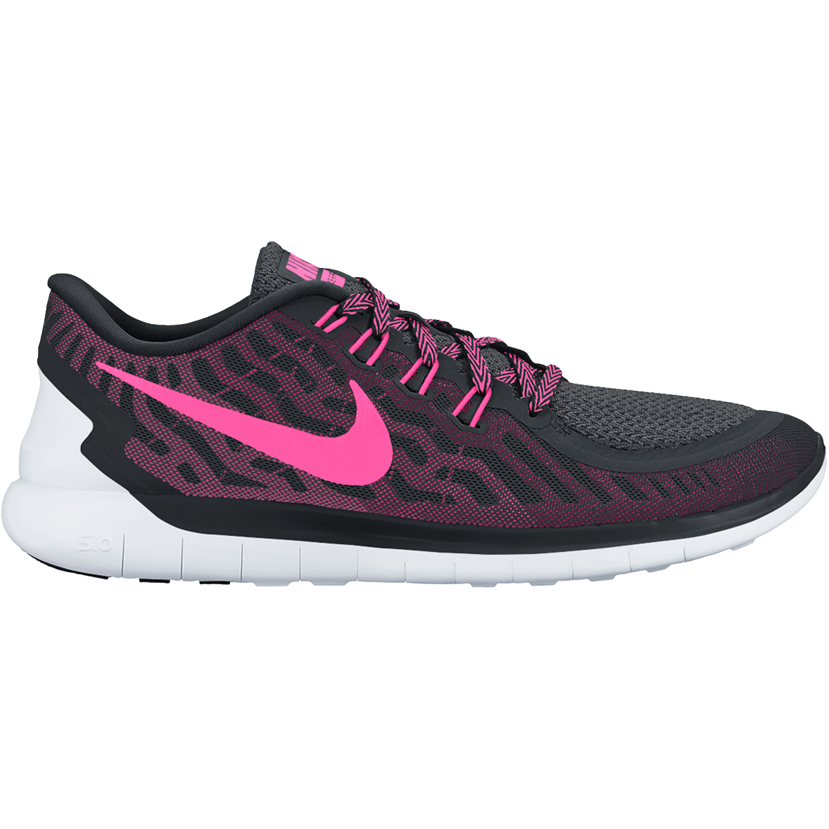 nike free 5 0 s shoes black fluorescent