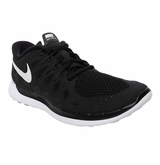 Nike Free 5.0 Women's Training Shoes - Black/White