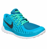 Nike Free 5.0 Women's Training Shoes - Blue Lagoon/Volt Green/Black