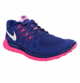 Nike Free 5.0 Women's Training Shoes - Blue/White