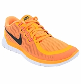 Nike Free 5.0 Women's Training Shoes - Bright Citrus/Hot Lava/Black
