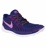 Nike Free 5.0 Women's Training Shoes - Deep Royal/Fuchsia/Charged Pink